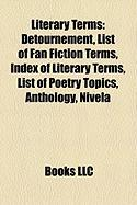 Literary Terms: List of Fan Fiction Terms