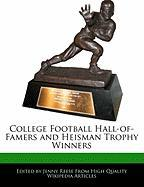 College Football Hall-Of-Famers and Heisman Trophy Winners - Reese, Jenny