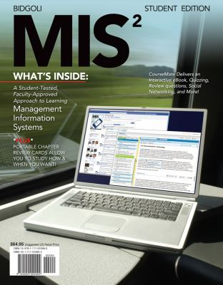 Mis2 (With Review Cards and Coursemate Printed Access Card) : Management Information System - Hossein Bidgoli