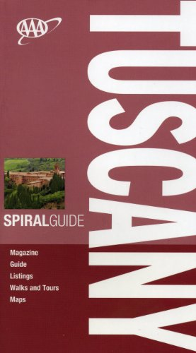 AAA Spiral Tuscany (AAA Spiral Guides: Tuscany) - Tim Jepson