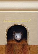 Mouse & Cheese Large Notebook