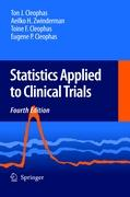 Statistics Applied to Clinical Trials - Cleophas, Ton J.; Cleophas, Eugene P.; Cleophas, Toine F.; Zwinderman, A. H.