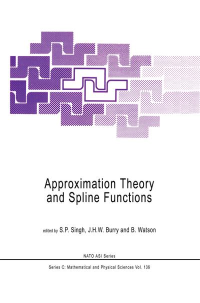 Approximation Theory and Spline Functions - J. H. W. Burry
