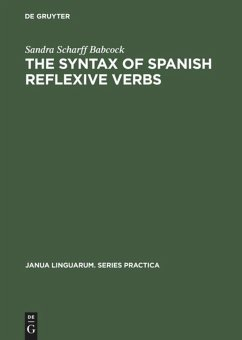 The Syntax of Spanish Reflexive Verbs: The Parameters of the Middle Verb
