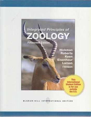 Integrated principles of zoology - Hickman, C.P.