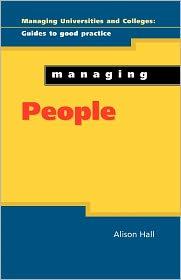 Managing People - Alison Hall