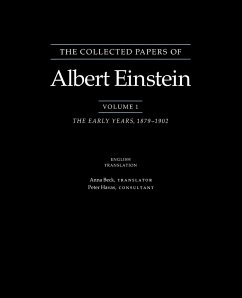 The Collected Papers of Albert Einstein: The Early Years, 1879-1902. - Einstein, Albert