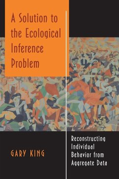 A Solution to the Ecological Inference Problem: Reconstructing Individual Behavior from Aggregate Data - King, Gary