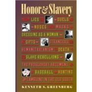 Honor & Slavery - Greenberg, Kenneth S.