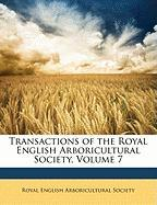 Transactions of the Royal English Arboricultural Society, Volume 7