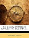 The Library of Original Sources - Oliver Joseph Thatcher