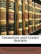 Thompson and Cook's Reports