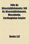 140s BC Disestablishments: 146 BC Disestablishments, Macedonia, Carthaginian Empire