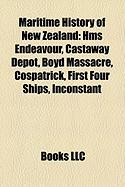 Maritime History of New Zealand: HMS Endeavour
