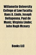 Willamette University College of Law Faculty: Hans A. Linde
