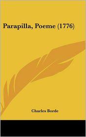 Parapilla, Poeme (1776)