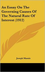An Essay on the Governing Causes of the Natural Rate of Interest (1912)