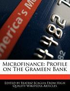 Microfinance: Profile on the Grameen Bank