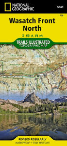National Geographic Trails Illustrated Map Wasatch Front North : Utah - Not Available