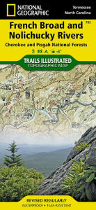 French Broad and Nolichucky Rivers [Cherokee and Pisgah National Forests] - Trails Illustrated