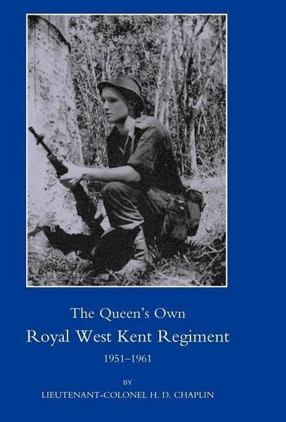Queen's Own Royal West Kent Regiment, 1951 - 1961