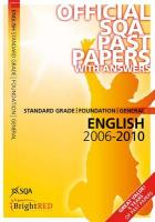 English Foundation/General (St Gr) SQA Past Papers