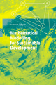 Mathematical Modelling for Sustainable Development - Marion Hersh