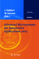 Advanced Microsystems for Automotive Applications 2005 - Jürgen Valldorf; Wolfgang Gessner