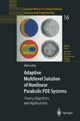 Adaptive Multilevel Solution of Nonlinear Parabolic PDE Systems - Jens Lang