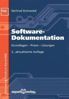 Software-Dokumentation - Grünwied, Gertrud