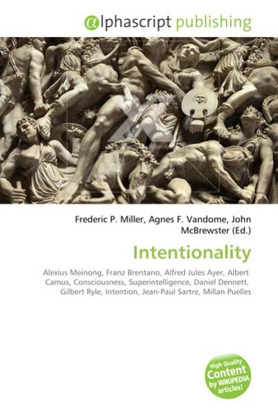 Intentionality - Frederic P. Miller