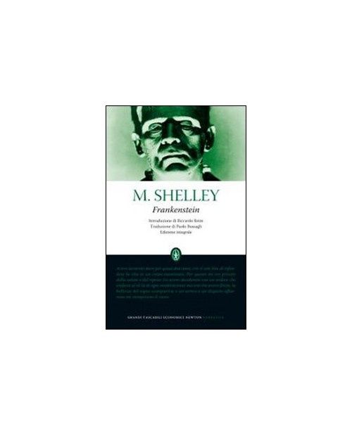 Frankestein. Ediz. integrale - Shelley Mary