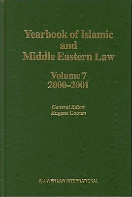 Yearbook of Islamic and Middle Eastern Law 2000-2001 - Springer Netherland
