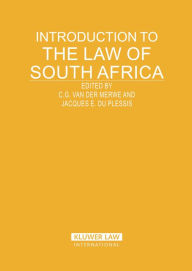 Introduction to the Law of South Africa - C. G. van der Merwe
