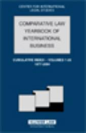 Comparative Law Yearbook of International Business Cumulative Index, Volume 1-26, 1977-2004 - Campbell / Dennis Campbell