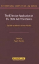 The Effective Application of EU State Aid Procedures - Paul F. Nemitz