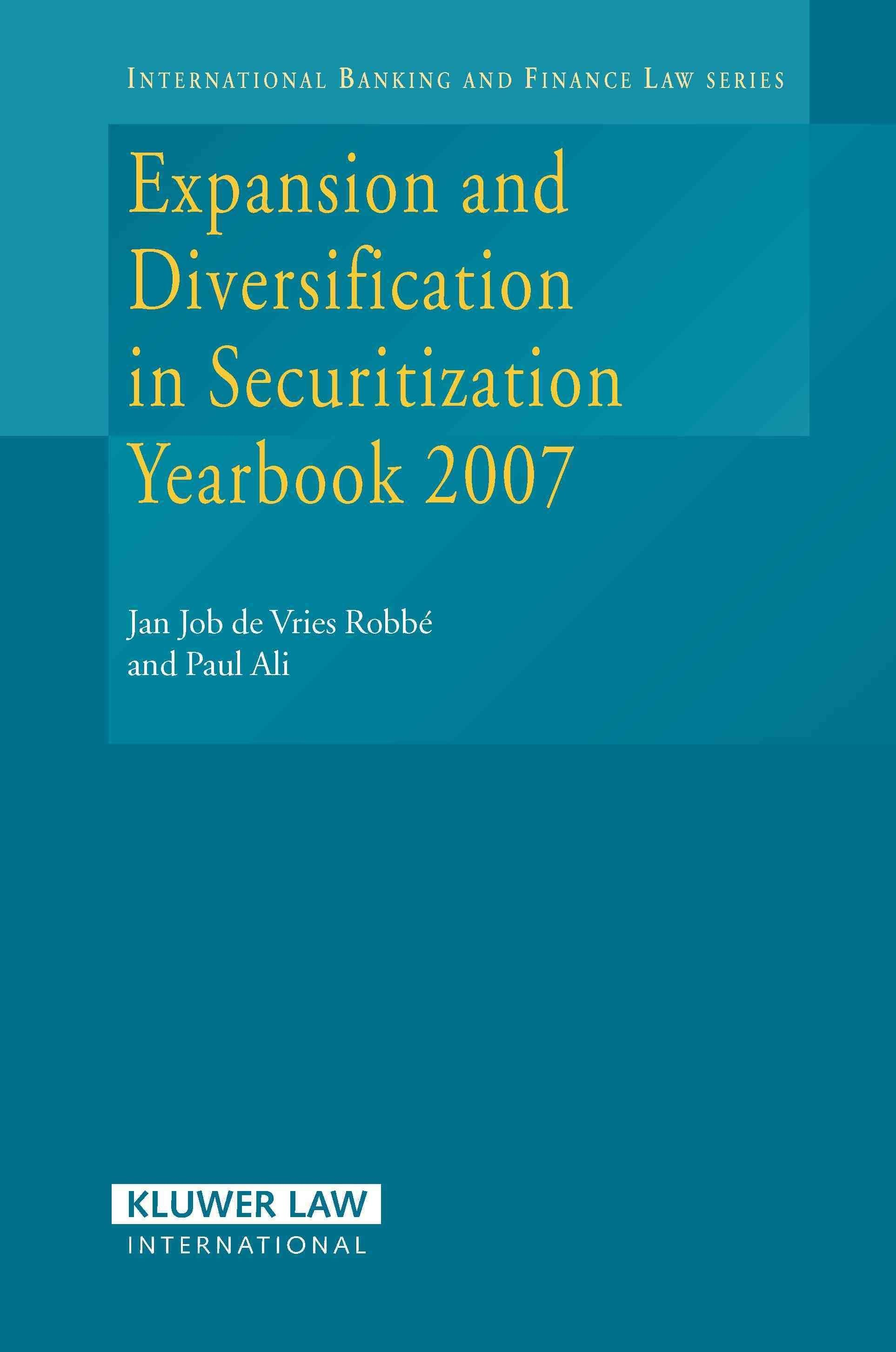 Innovations in Securitization Yearbook 2007 - Jan Job de Vries Robbe