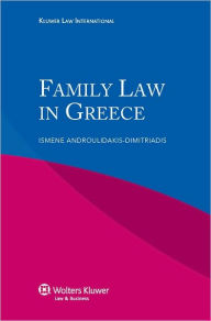 Family Law In Greece - Ismene Androulidakis-Dimitriadis