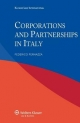 Corporations and Partnerships in Italy - F. Pernazza