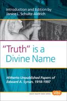 """""""Truth"""" is a Divine Name"""