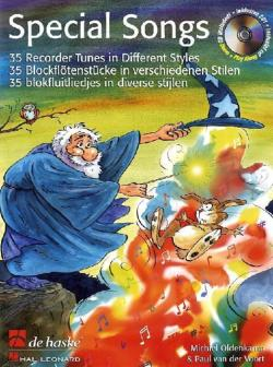 Special Songs: 35 Recorder Tunes in Different Styles (De Haske Play-Along Book)