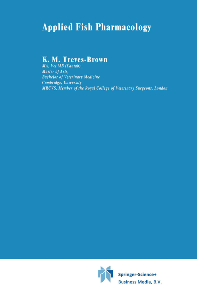 Applied Fish Pharmacology als Buch von K. M. Treves-Brown - Springer Netherlands