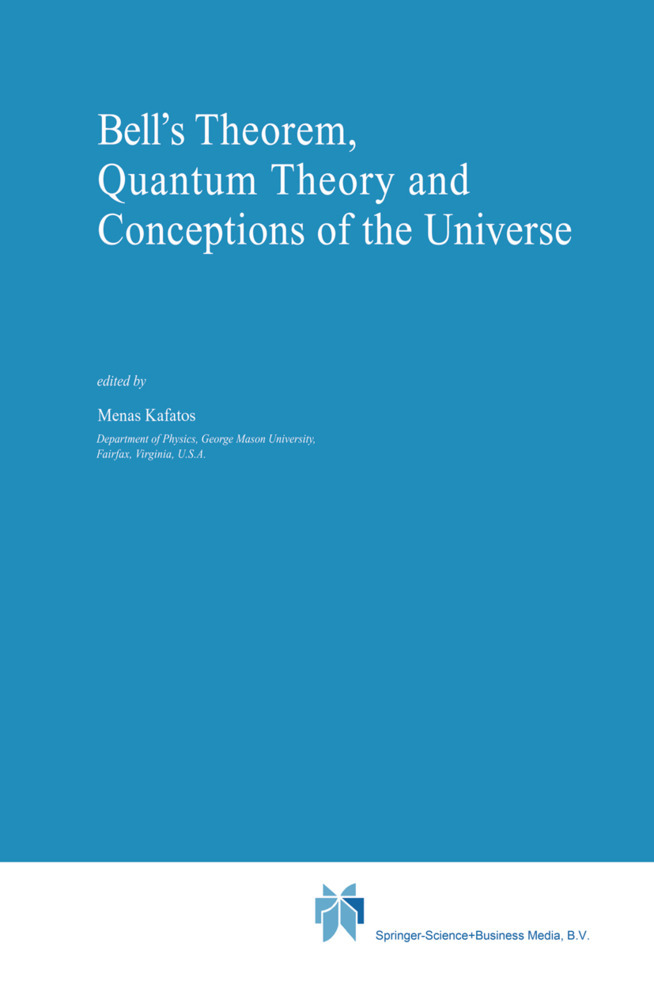 Bell´s Theorem, Quantum Theory and Conceptions of the Universe als Buch von - Springer Netherlands