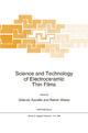 Science and Technology of Electroceramic Thin Films - Orlando Auciello; Rainer Waser
