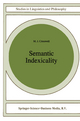 Semantic Indexicality - M.J. Cresswell
