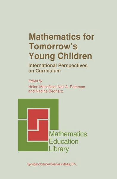 Mathematics for Tomorrow's Young Children - Springer Netherland