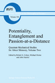 Potentiality, Entanglement and Passion-at-a-distance - R.S. Cohen; M. Horne; J. J. Stachel