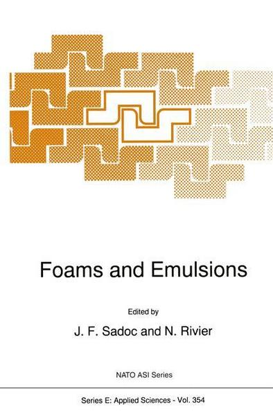 Foams and Emulsions - Springer Netherland
