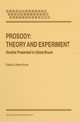 Prosody: Theory and Experiment - M. Horne