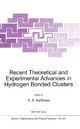 Recent Theoretical and Experimental Advances in Hydrogen Bonded Clusters - S.S. Xantheas